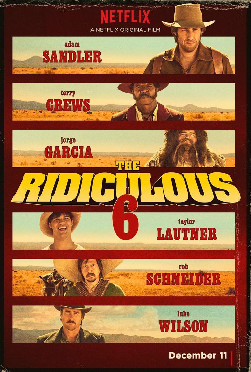 The Ridiculous 6 - Film (2015)