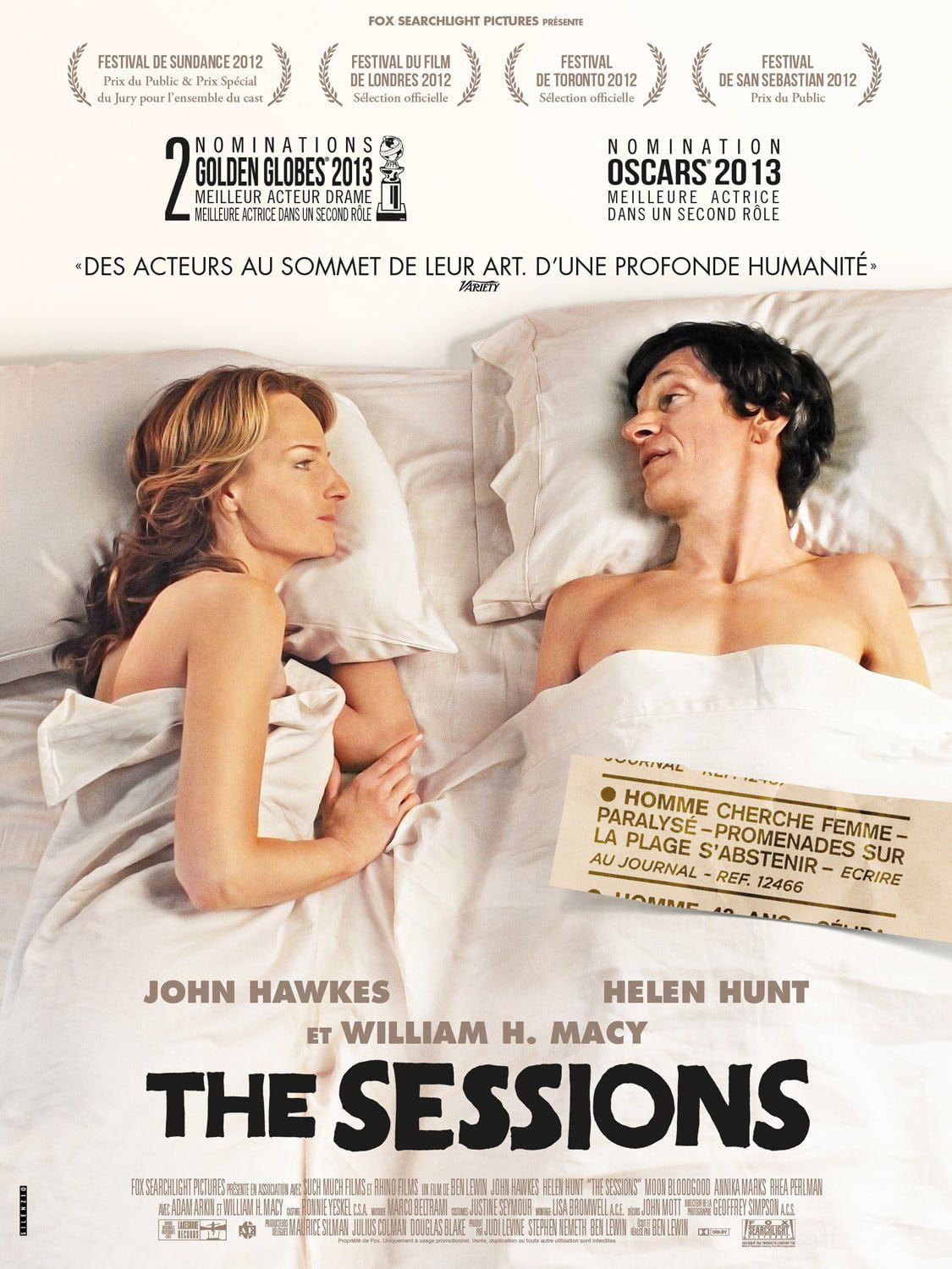 The Sessions - Film (2012)