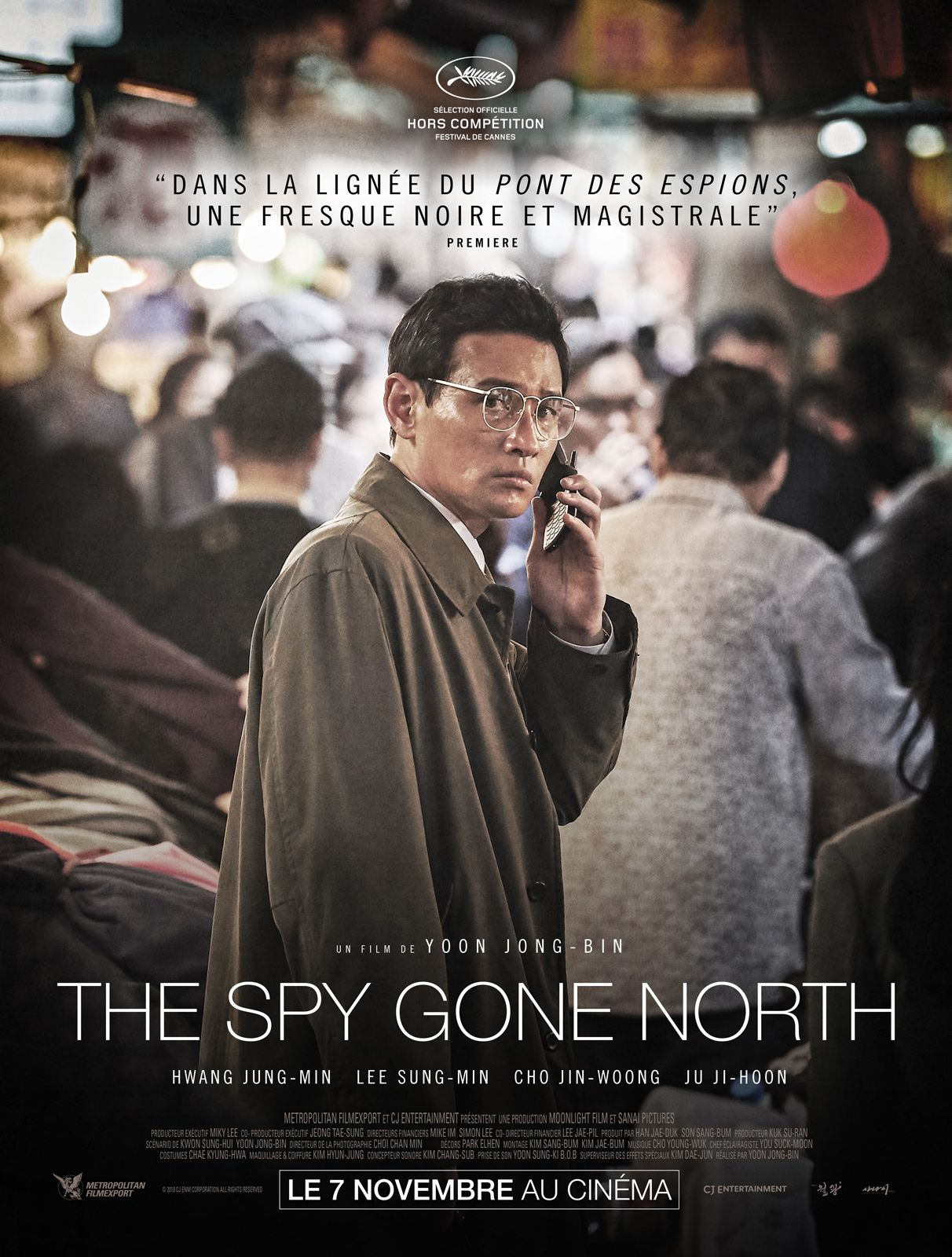 The Spy Gone North - Film (2018)