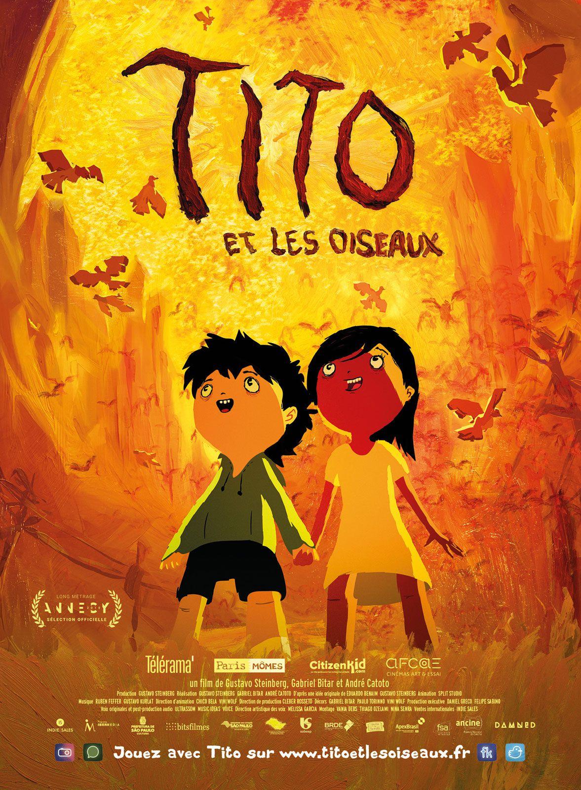 Tito et les Oiseaux - Long-métrage d'animation (2019)