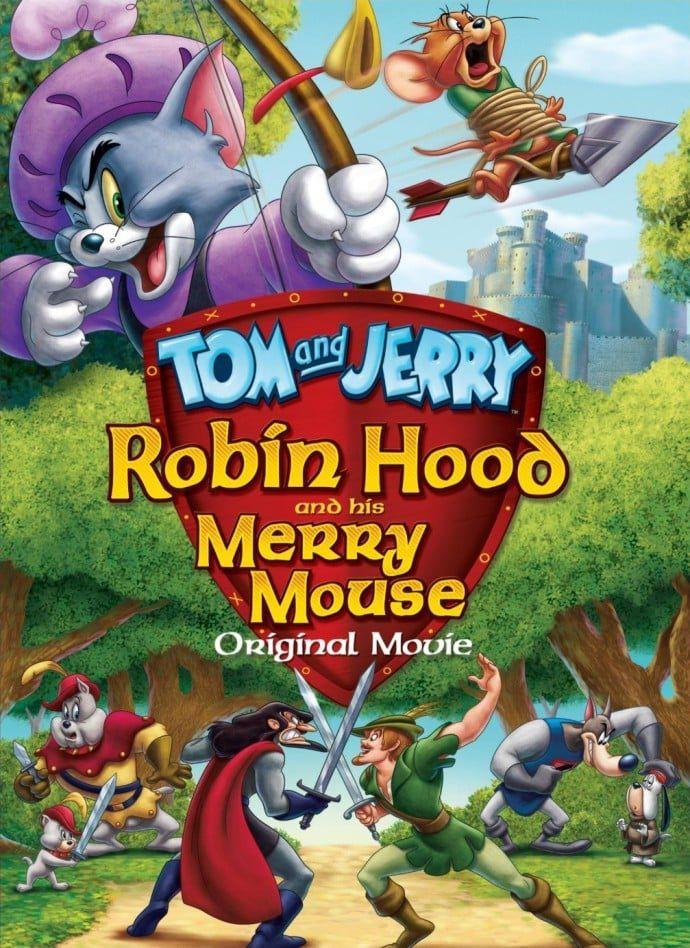 Tom et Jerry : L'Histoire de Robin des Bois - Long-métrage d'animation (2012)