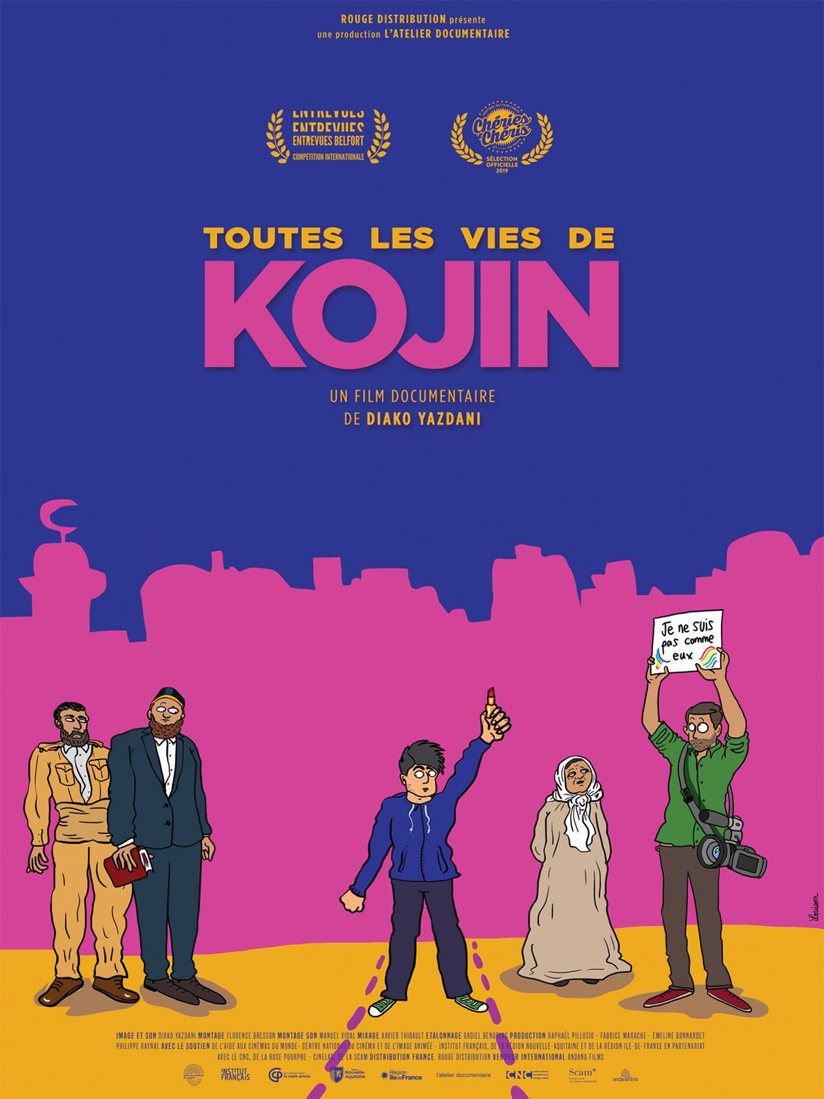 Toutes les vies de Kojin - Documentaire (2020)