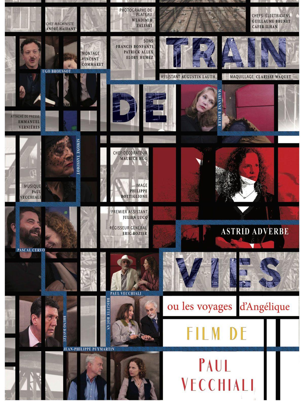 Train de vies ou les voyages d'Angélique - Film (2018)