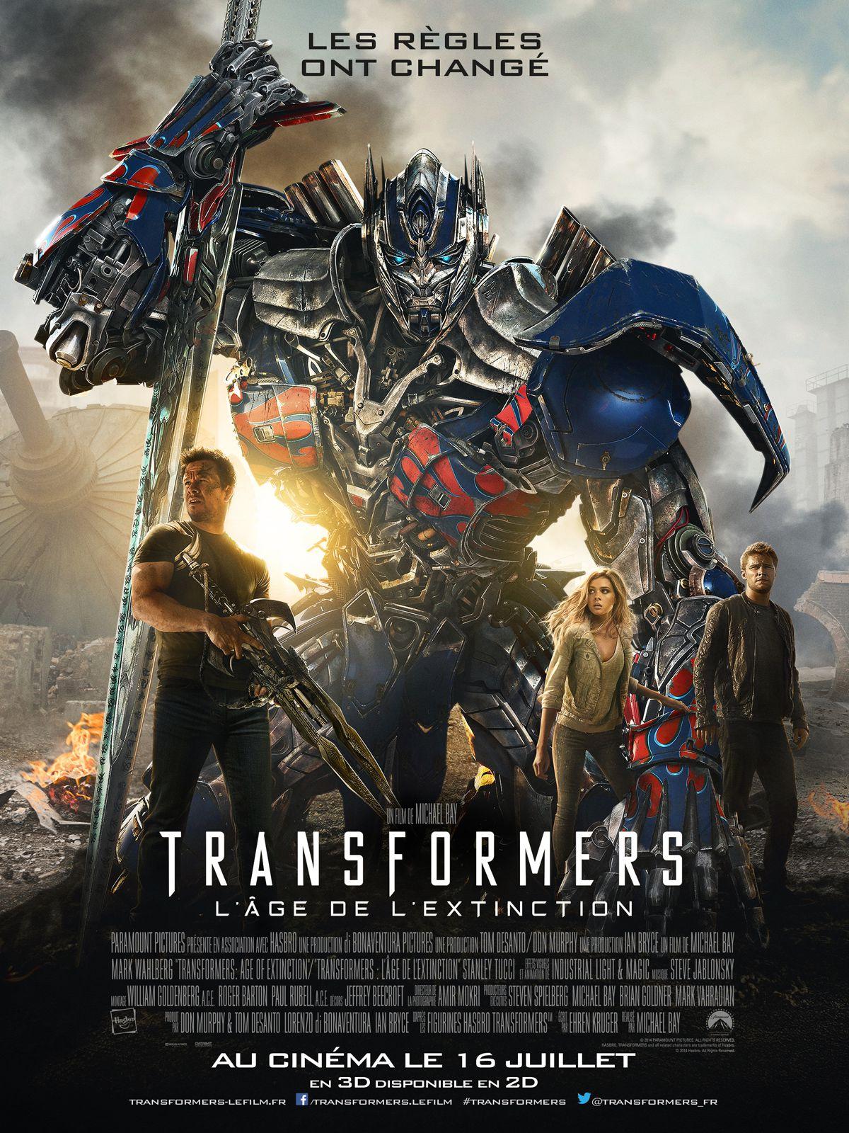 Transformers : L'Âge de l'extinction - Film (2014)
