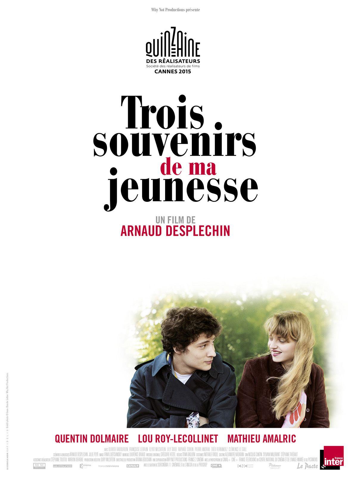 Trois souvenirs de ma jeunesse - Film (2015)