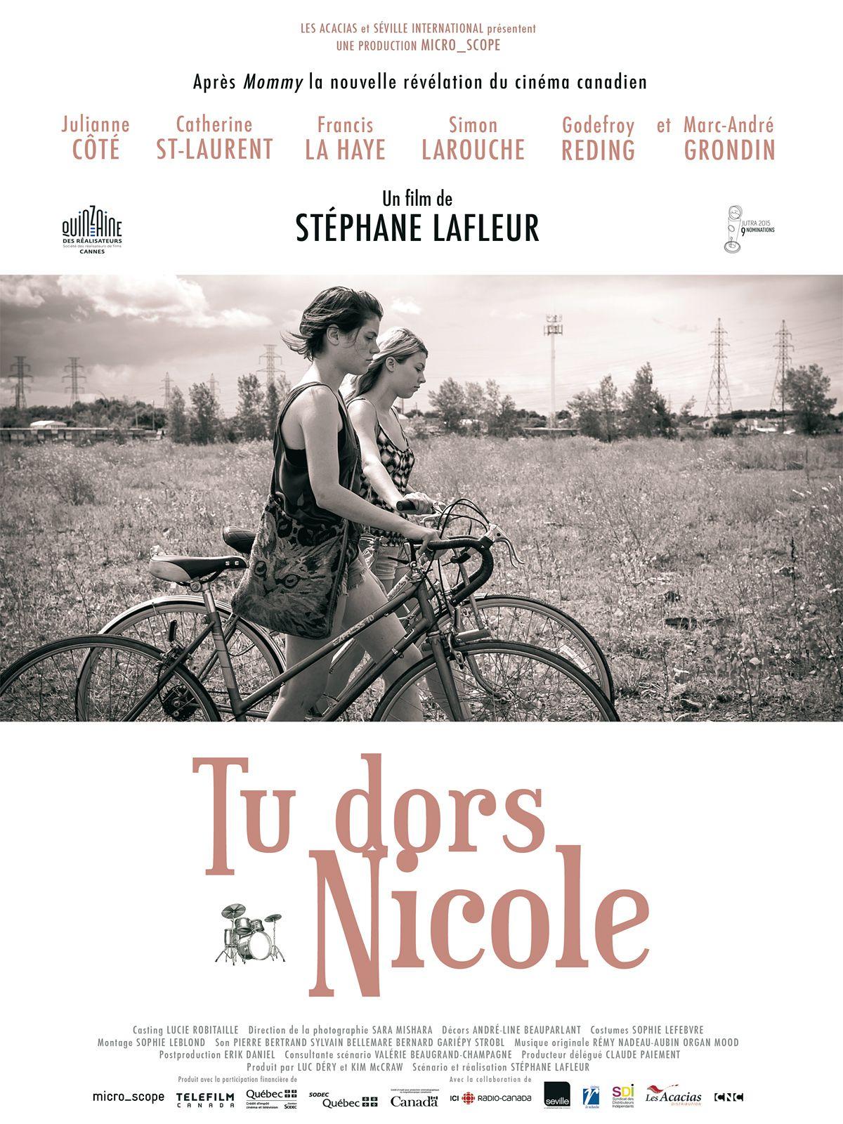 Tu dors Nicole - Film (2014)