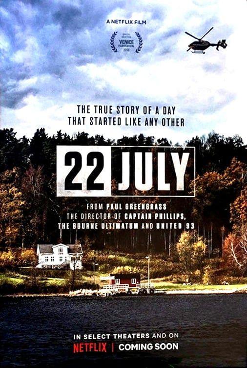 Un 22 juillet - Film (2018)