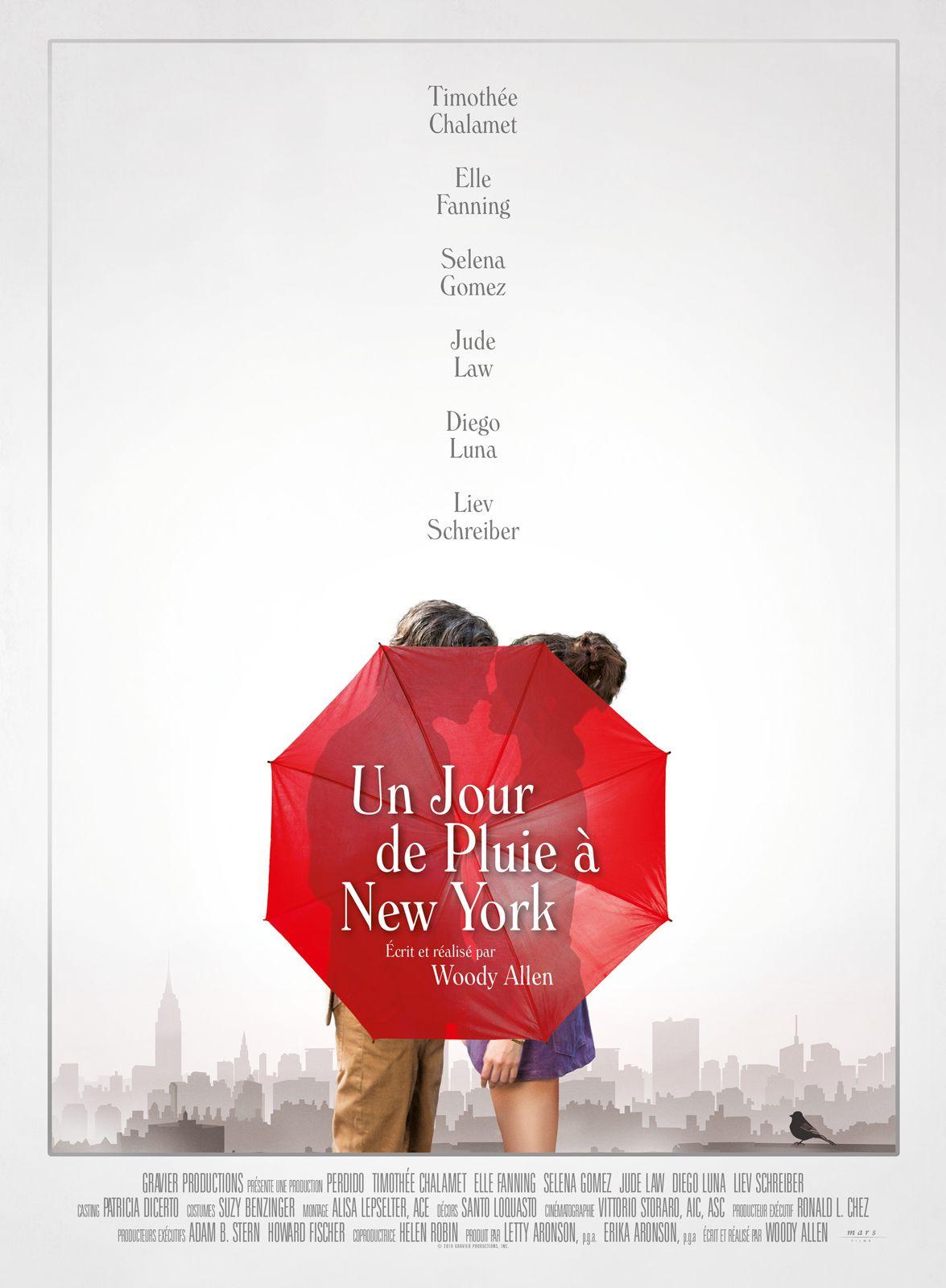 Un jour de pluie à New York - Film (2019)