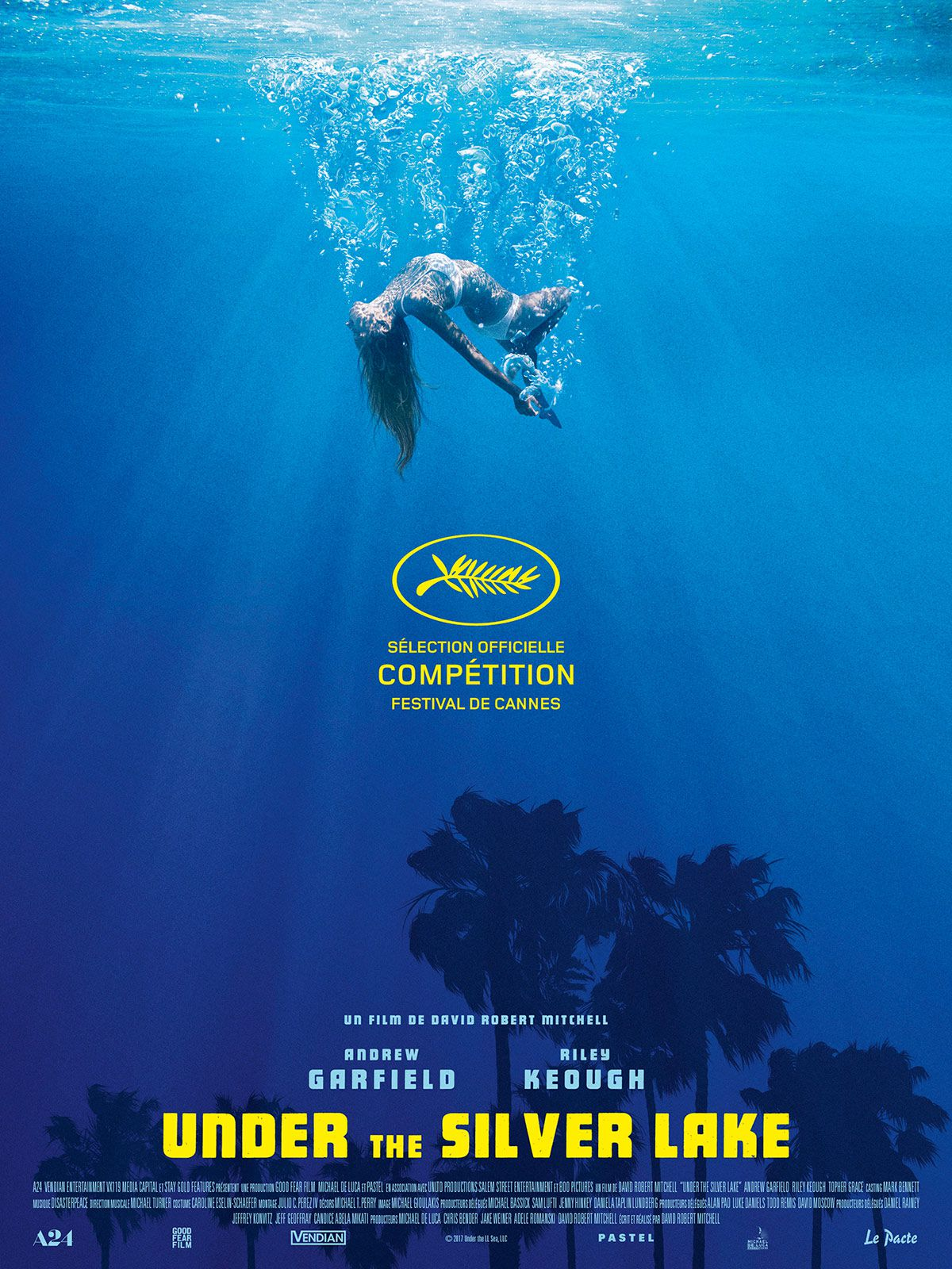Under the Silver Lake - Film (2018)