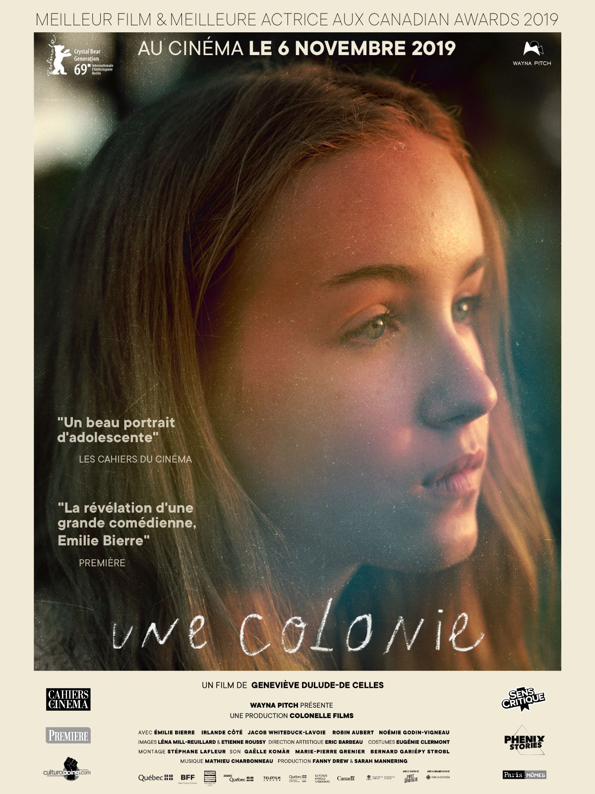 Une colonie - Film (2019)