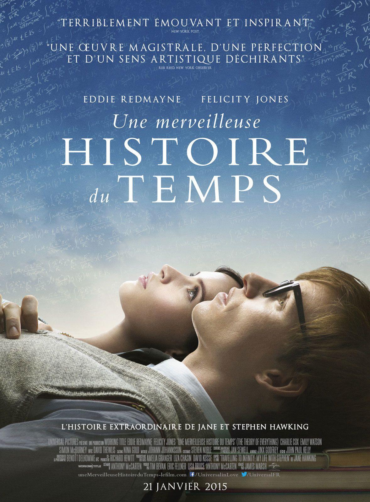 Une merveilleuse histoire du temps - Film (2014)