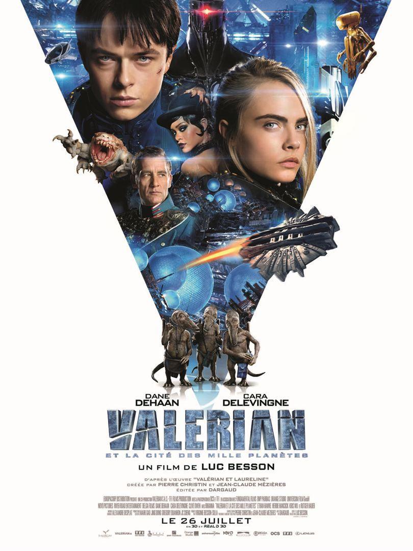 Valérian et la Cité des mille planètes - Film (2017)