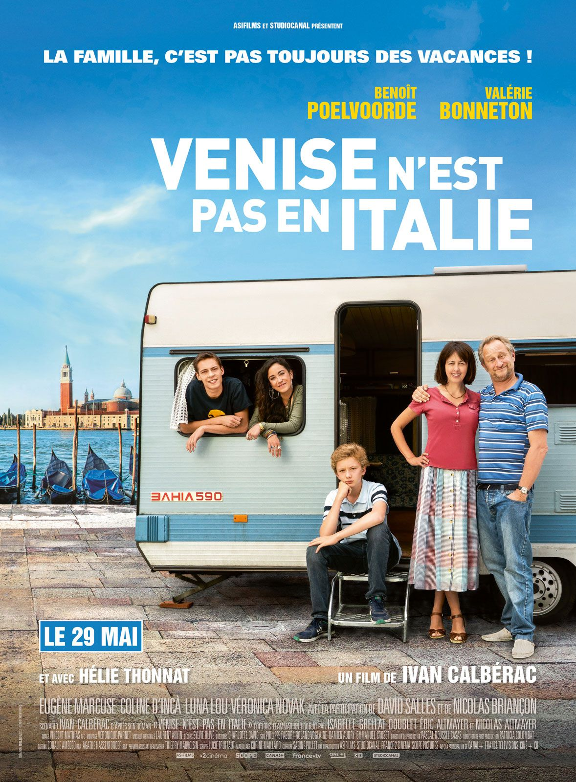 Venise n'est pas en Italie - Film (2019)