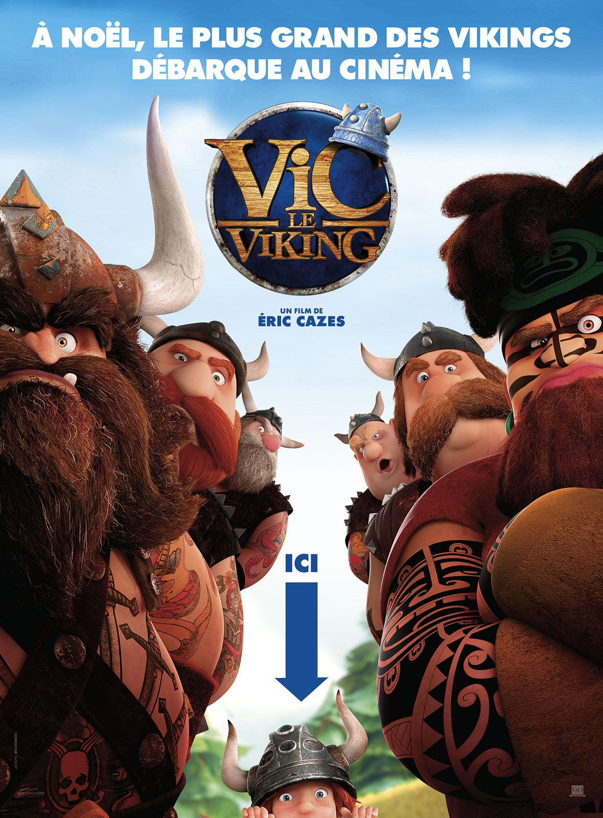 Vic le Viking - Long-métrage d'animation (2019)