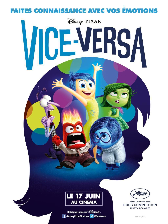 Vice-Versa - Long-métrage d'animation (2015)