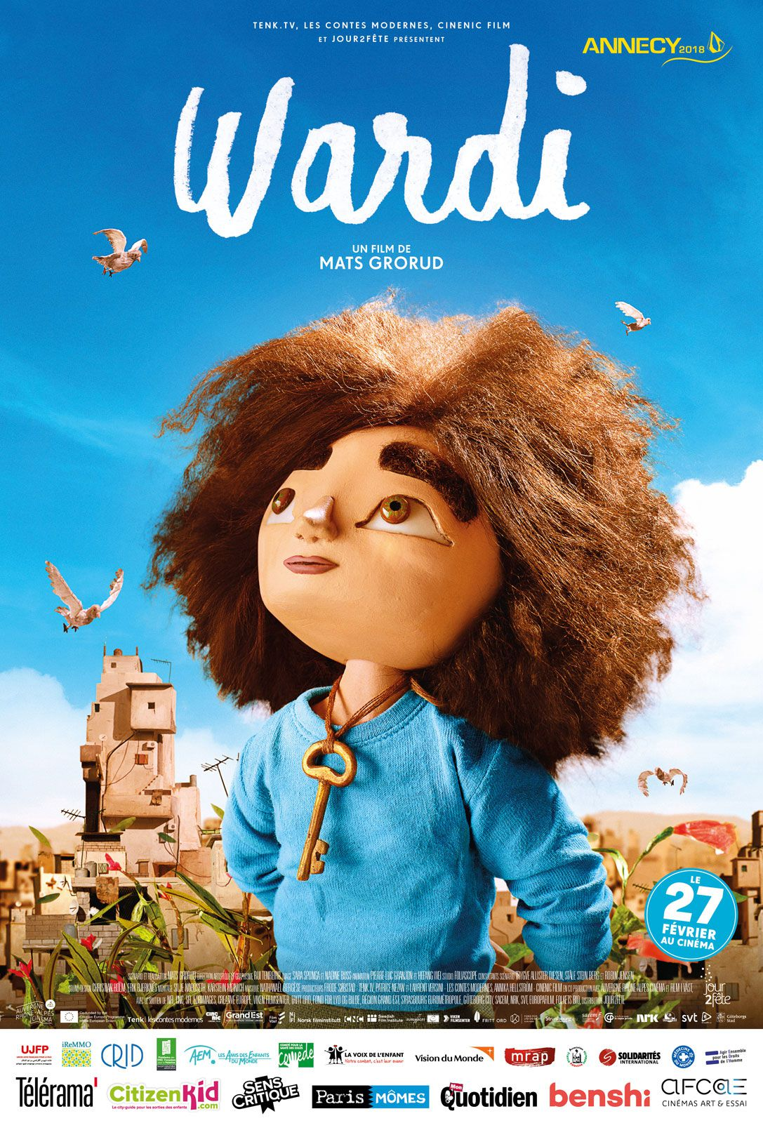 Wardi - Long-métrage d'animation (2019)
