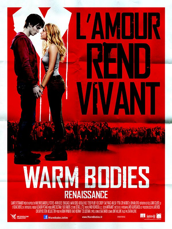 Warm Bodies : Renaissance - Film (2013)