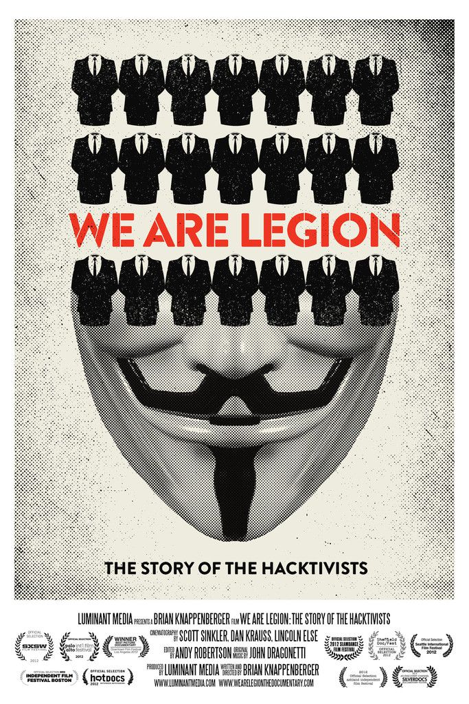 We Are Legion: The Story of the Hacktivists - Documentaire (2012)