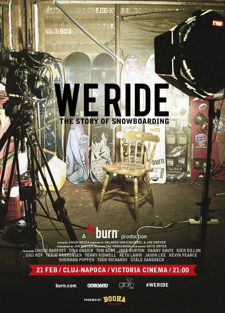 We Ride - The Story Of Snowboarding. - Documentaire (2013)