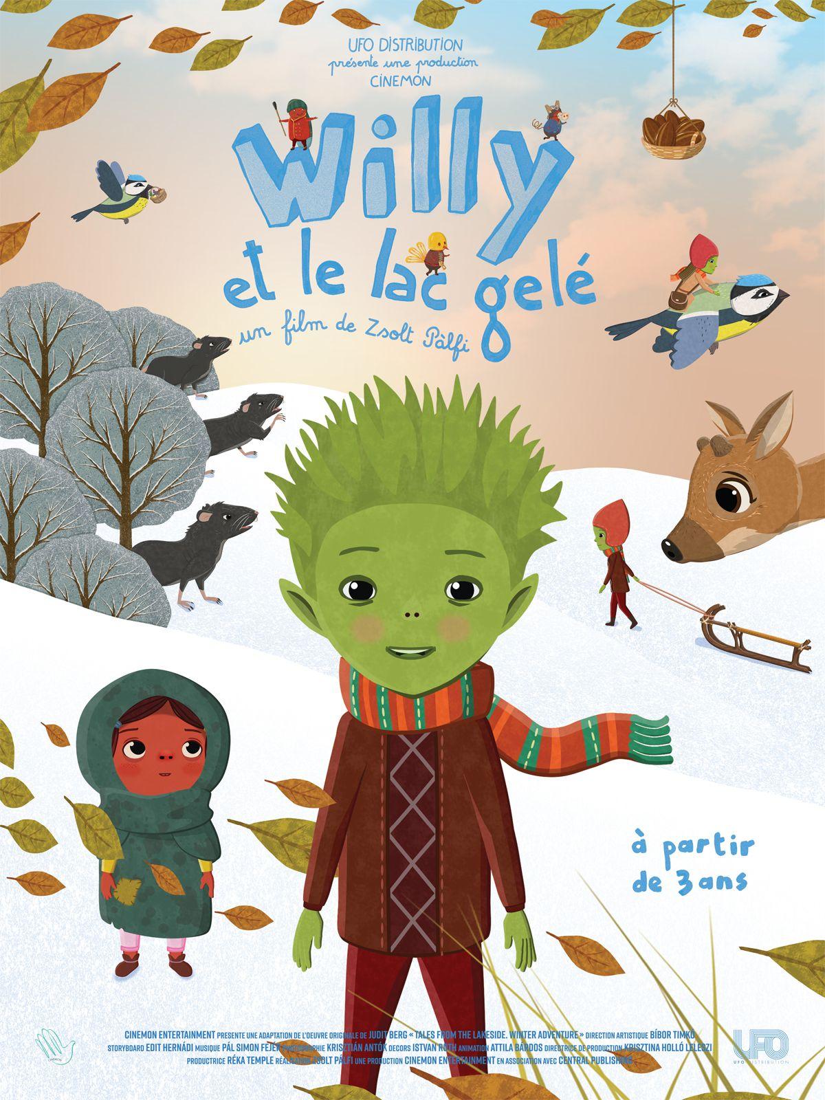 Willy et le lac gelé - Film (2019)