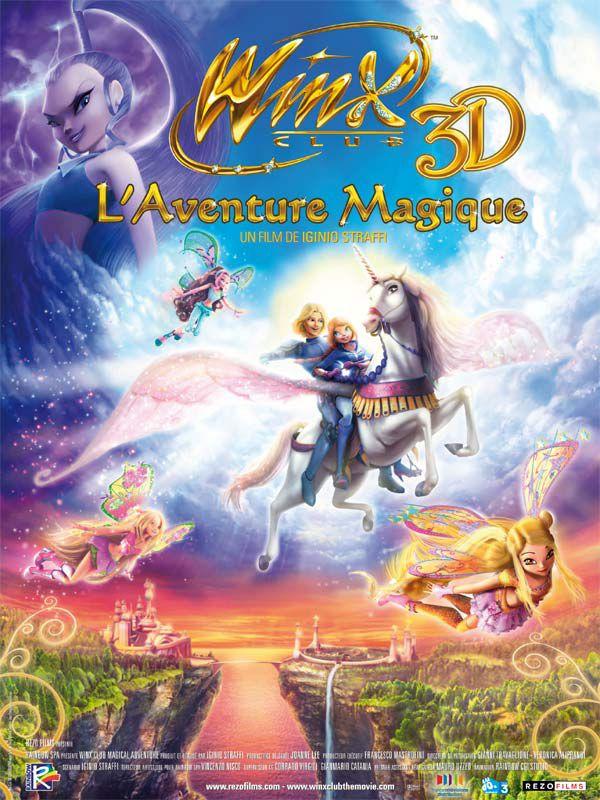 Winx Club 3D : L'Aventure magique - Film (2011)