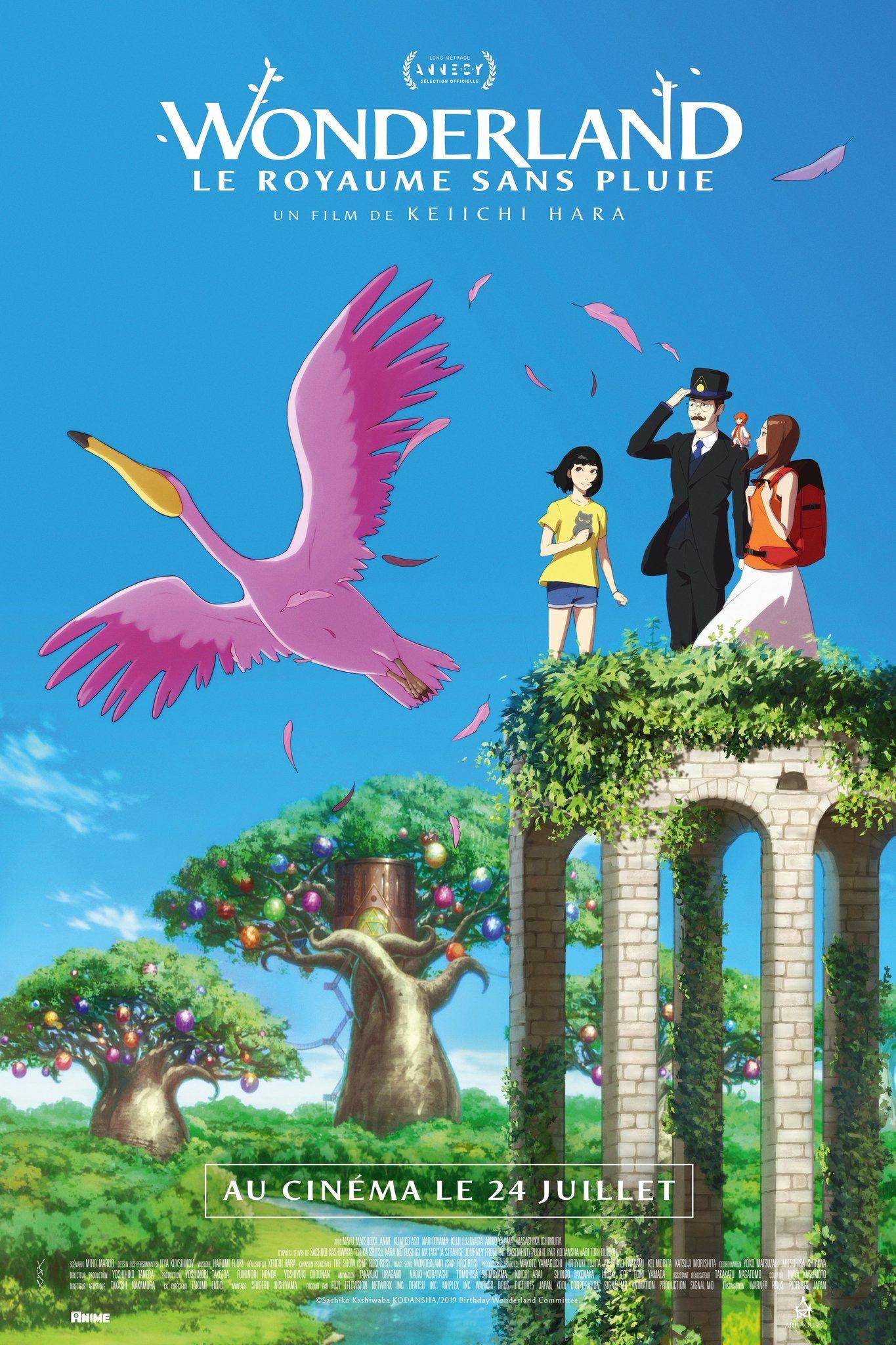 Wonderland, le royaume sans pluie - Long-métrage d'animation (2019)