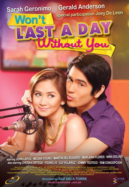 Won't Last A Day Without You - Film (2011)