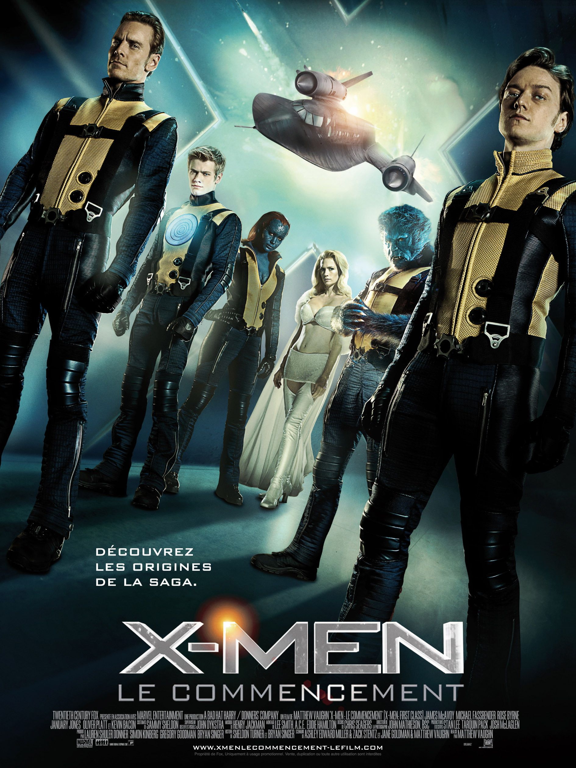 X-Men : Le Commencement - Film (2011)