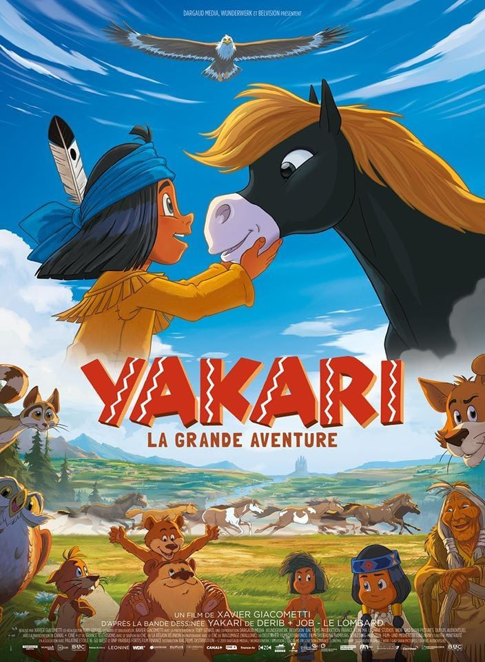 Yakari - La Grande Aventure - Long-métrage d'animation (2020)