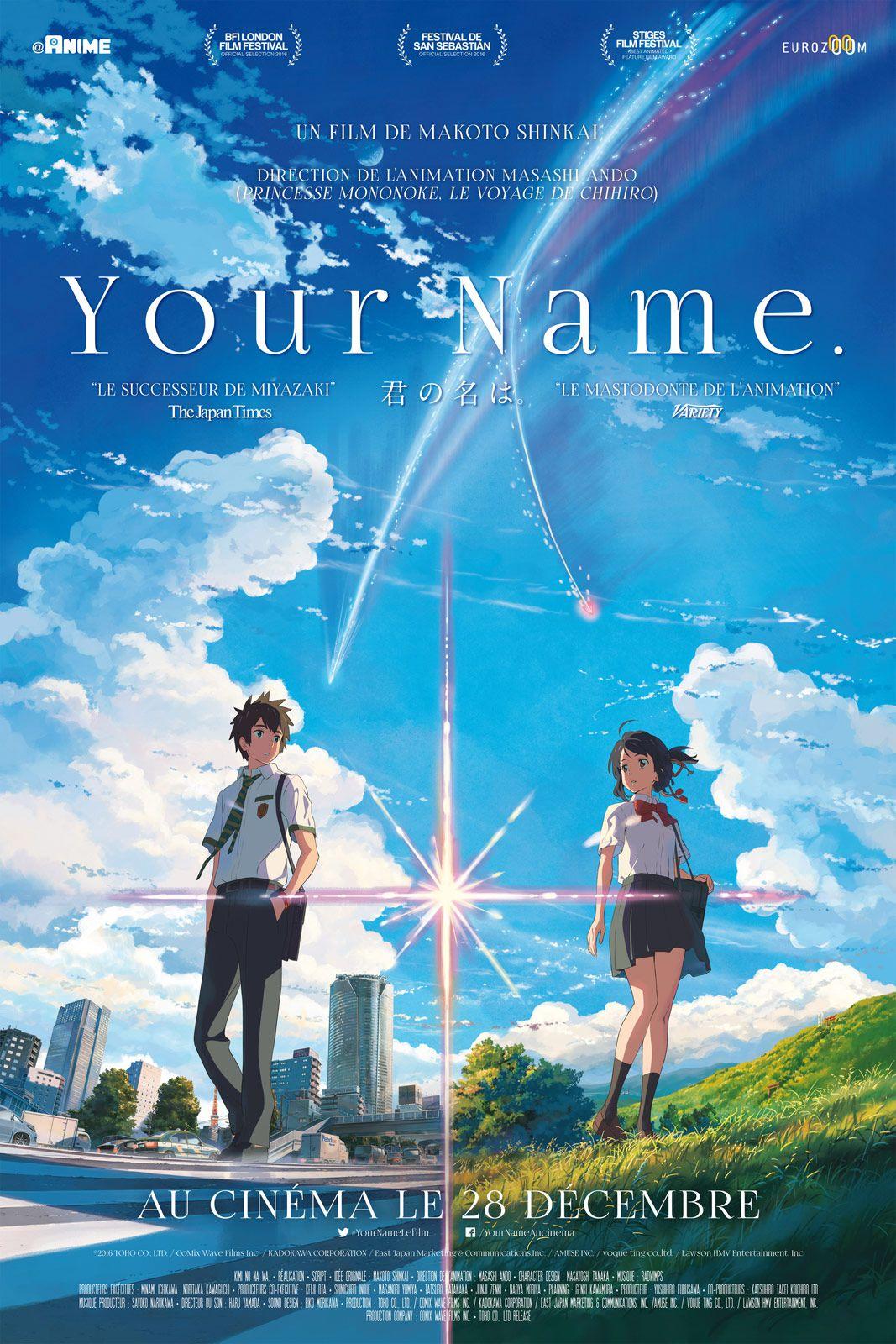Your Name. - Long-métrage d'animation (2016)