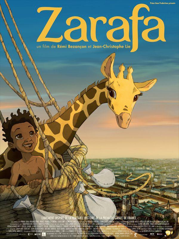 Zarafa - Long-métrage d'animation (2012)