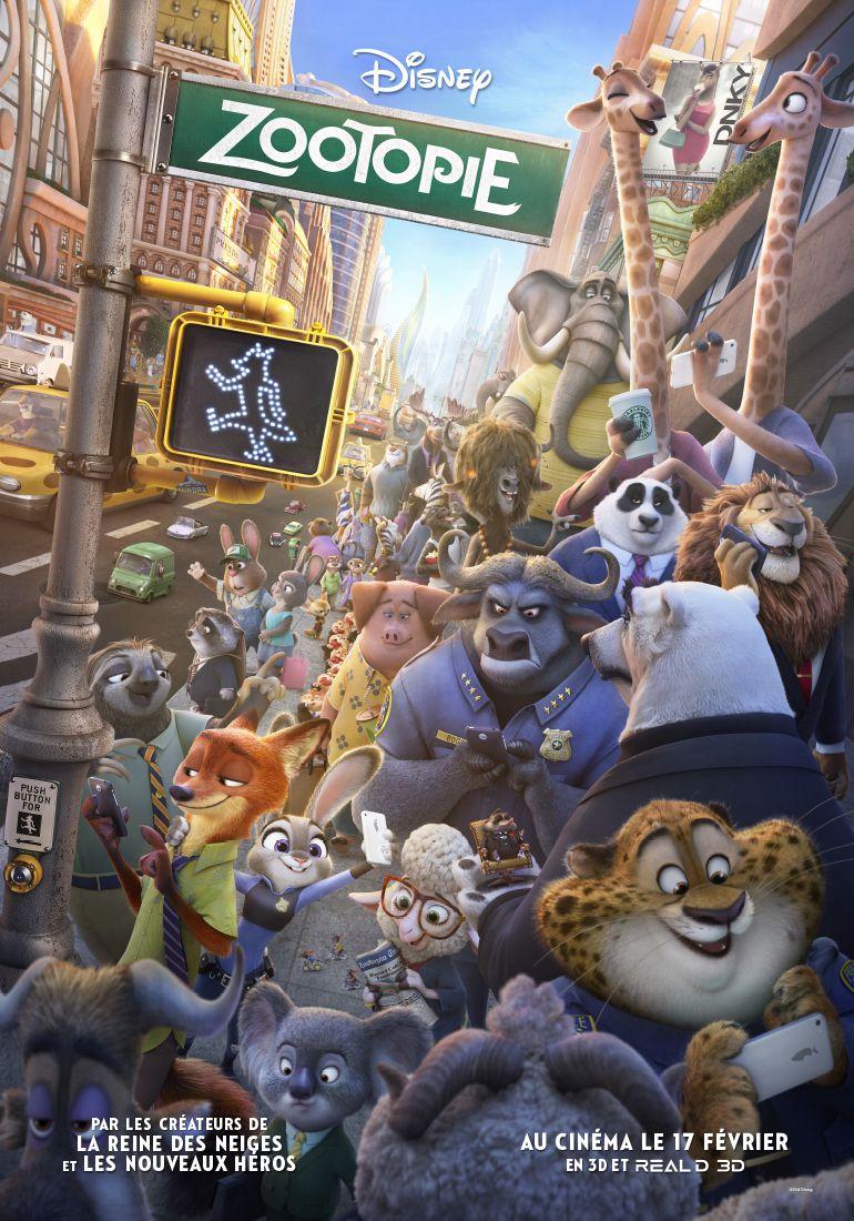 Zootopie - Long-métrage d'animation (2016)